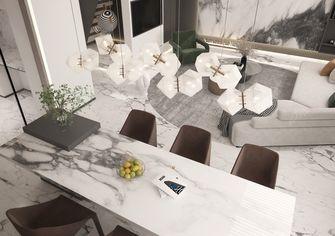 140平米四室三厅现代简约风格餐厅装修案例