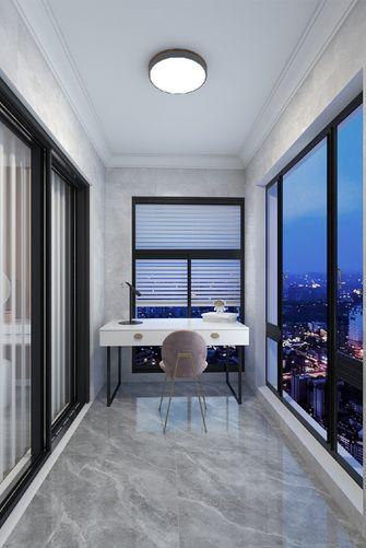 100平米三室一厅现代简约风格阳台装修效果图