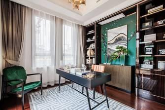 140平米欧式风格书房装修图片大全