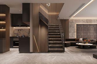 140平米别墅轻奢风格楼梯间图