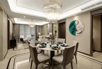 富裕型130平米三室两厅港式风格餐厅图