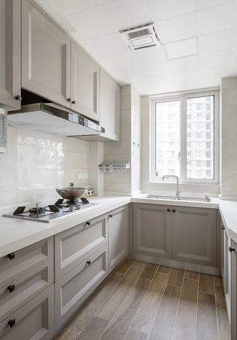富裕型110平米三室两厅美式风格厨房效果图