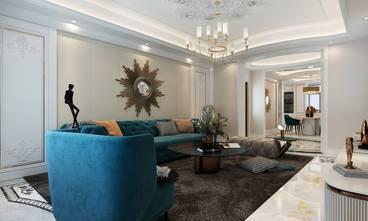 经济型140平米四室两厅欧式风格客厅装修图片大全
