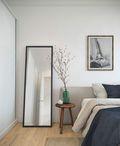 富裕型100平米北欧风格卧室欣赏图