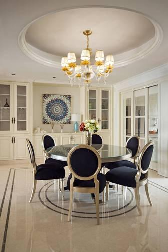 豪华型140平米四室一厅法式风格餐厅装修效果图