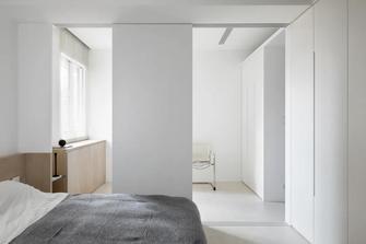 60平米英伦风格卧室图片