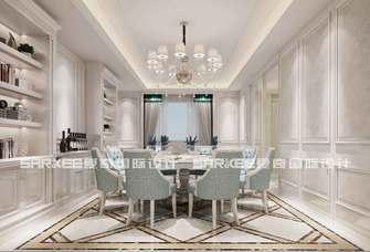 豪华型140平米三欧式风格餐厅装修案例