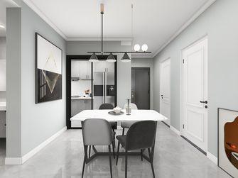 80平米三室两厅现代简约风格餐厅欣赏图