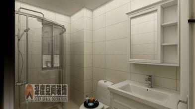 经济型80平米三室两厅欧式风格卫生间欣赏图
