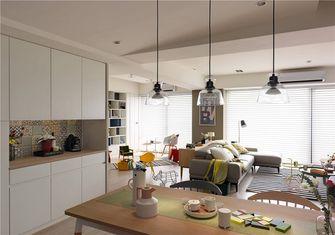 豪华型80平米三室一厅北欧风格餐厅图片