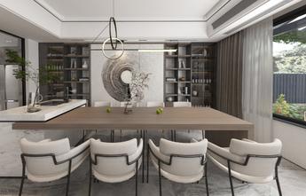富裕型100平米三室一厅混搭风格餐厅欣赏图