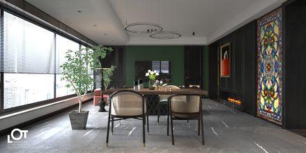 经济型140平米三室一厅新古典风格餐厅效果图