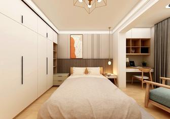 经济型50平米公寓日式风格卧室装修效果图