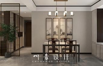 经济型90平米三室三厅中式风格餐厅设计图