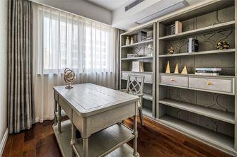 富裕型140平米三室一厅美式风格书房欣赏图