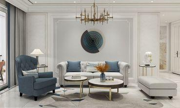 豪华型80平米三美式风格客厅效果图
