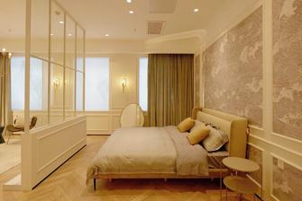 一室一厅法式风格卧室装修案例