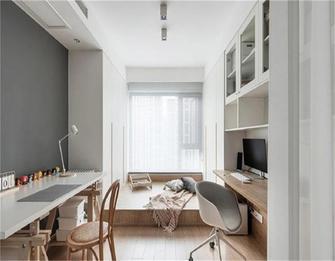 5-10万90平米三室两厅田园风格书房装修图片大全