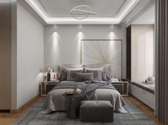 20万以上110平米三室两厅现代简约风格卧室图
