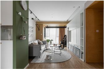 经济型90平米北欧风格客厅效果图