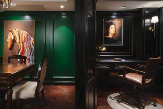20万以上140平米复式美式风格书房欣赏图