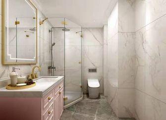 经济型110平米三室两厅法式风格卫生间图片大全