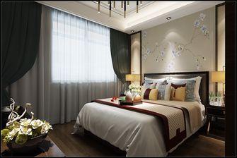 10-15万110平米三室一厅中式风格卧室图片大全