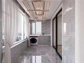 经济型120平米三室两厅现代简约风格阳台装修效果图
