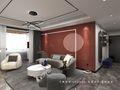 富裕型110平米三室两厅现代简约风格玄关效果图