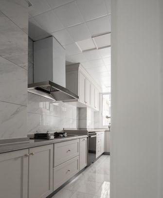 富裕型100平米三室一厅法式风格厨房欣赏图
