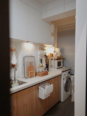 经济型100平米三室两厅日式风格厨房设计图