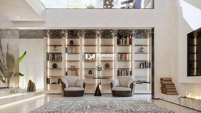 20万以上140平米别墅现代简约风格书房图片