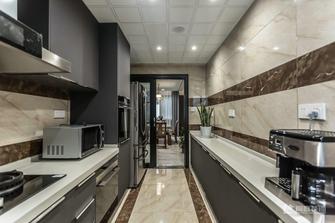 20万以上140平米四室三厅新古典风格厨房欣赏图