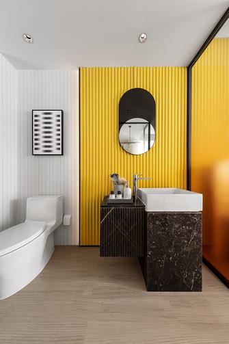 富裕型140平米四室四厅现代简约风格卫生间图片