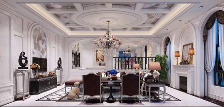 3万以下120平米三室一厅东南亚风格客厅装修图片大全