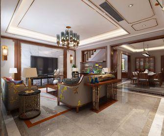 140平米欧式风格客厅图片大全