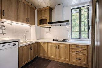 经济型130平米三室一厅美式风格厨房装修案例