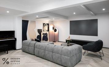 3-5万140平米别墅现代简约风格影音室装修案例