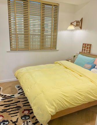 5-10万90平米三室两厅北欧风格卧室装修图片大全