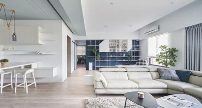 10-15万110平米三室一厅地中海风格客厅图