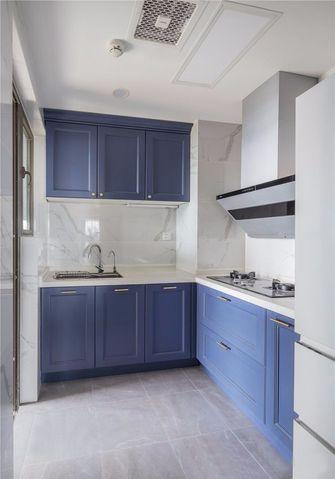 经济型90平米美式风格厨房图