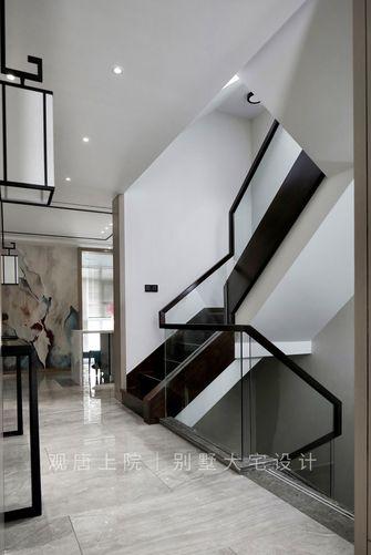 豪华型140平米别墅中式风格楼梯间图