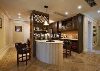 140平米三室两厅田园风格餐厅装修案例