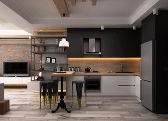 3-5万50平米小户型工业风风格厨房欣赏图