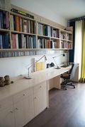10-15万100平米三北欧风格书房装修案例