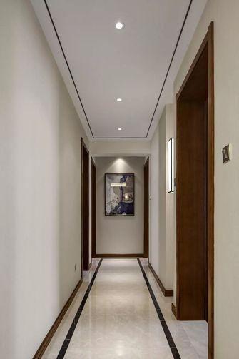 富裕型110平米三室一厅中式风格走廊图