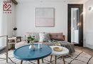 10-15万90平米三室两厅北欧风格客厅图