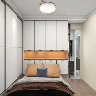 经济型50平米公寓现代简约风格卧室装修案例