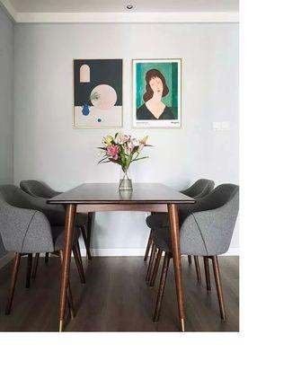 经济型70平米公寓现代简约风格餐厅装修图片大全