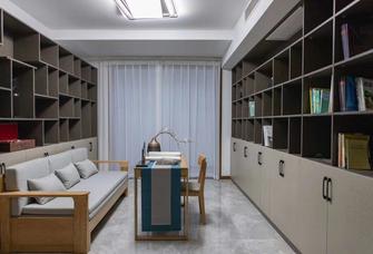 20万以上140平米别墅中式风格书房效果图